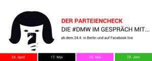 Der Parteiencheck: Die #DMW im Gespräch mit Die Linke @ Karl-Liebknecht-Haus