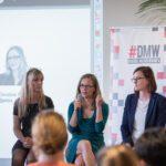 Florian Bauhuber, Gina Röge, Christine Plass und Charlotte Reimann Im Panel