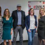 Beate Mader, Christine Plass, Florian Bauhuber, Charlotte Reimann und Gina Röge