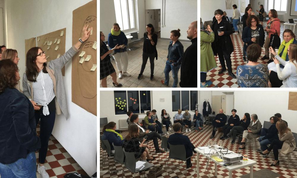 Lebhafte Diskussionsrunden beim Workshop Digitalisierung auf dem Land