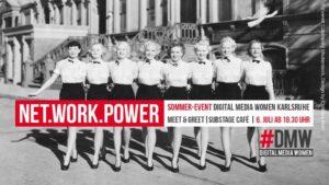 Kick-Off der Digital Media Women in Karlsruhe #DMW @ Substagecafé