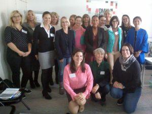 Die Teilnehmerinnen am ersten Speakerinnen-Casting 2017 in Frankfurt