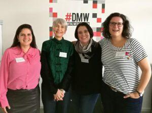 Jurymitglieder: Nádia Lustosa Horn, Anja Henningsmeyer, Mona Szyperski und Moderatorin Johanna Disselhoff