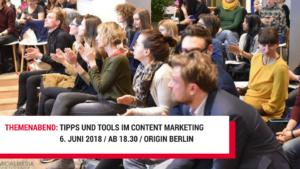 Tipps & Tools für Content Marketing @ origin