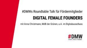 SAFE THE DATE: #DMWs Talk für Fördermitglieder @ Deutsche Gesellschaft für Nachhaltiges Bauen - DGNB e. V.