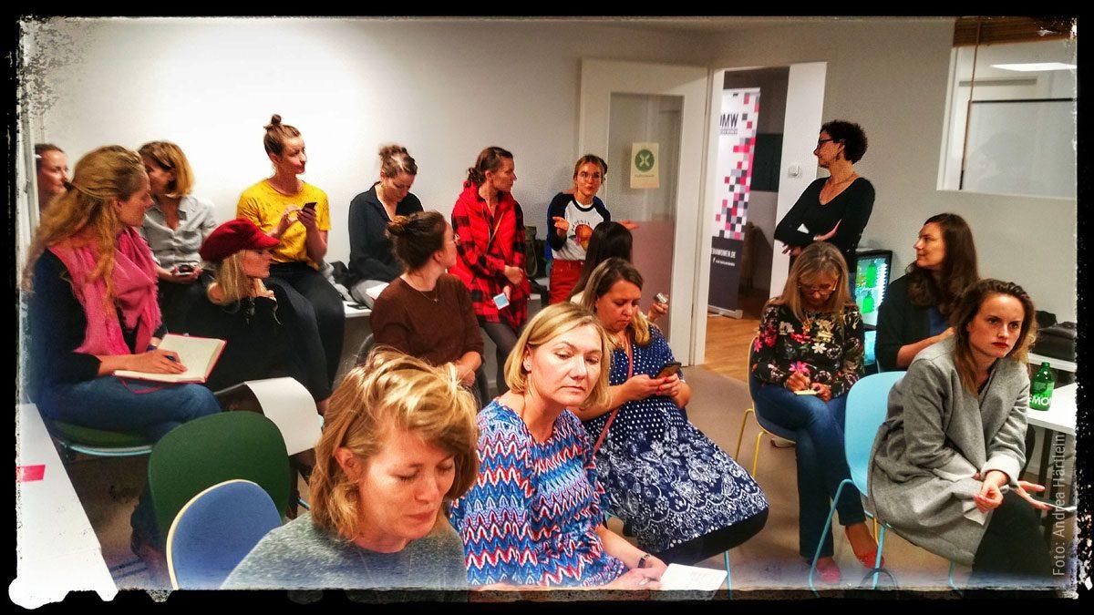 Digital Media Women e.V. Meet-Up Instastories im Quartier Köln