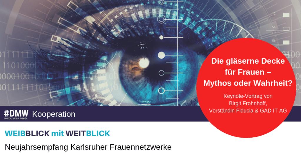Neujahrsempfang Karlsruher Frauenentzwerke 2019