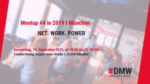 DMW München Meetup in @ CANTINA in der Passinger Fabrik