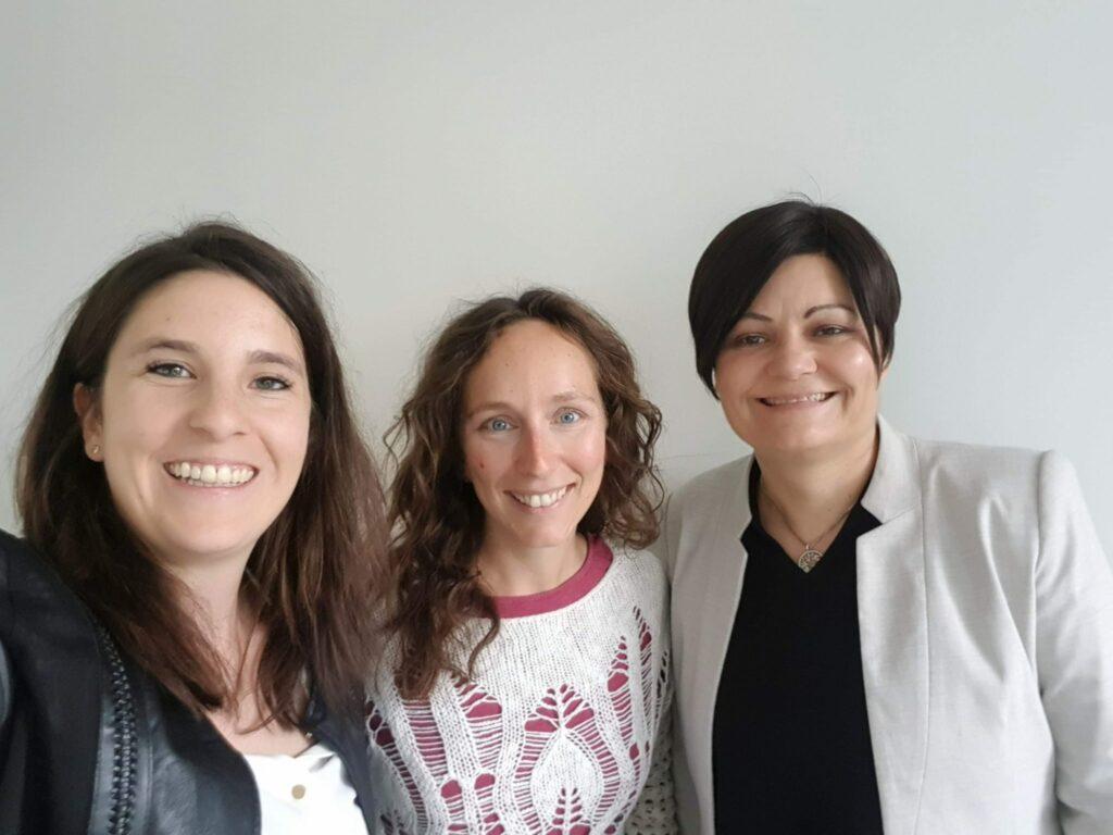 #DMWkaffee mit... Julie Berger, der angehenden Astronautin Suzanna Randall und Barbara Gremmler