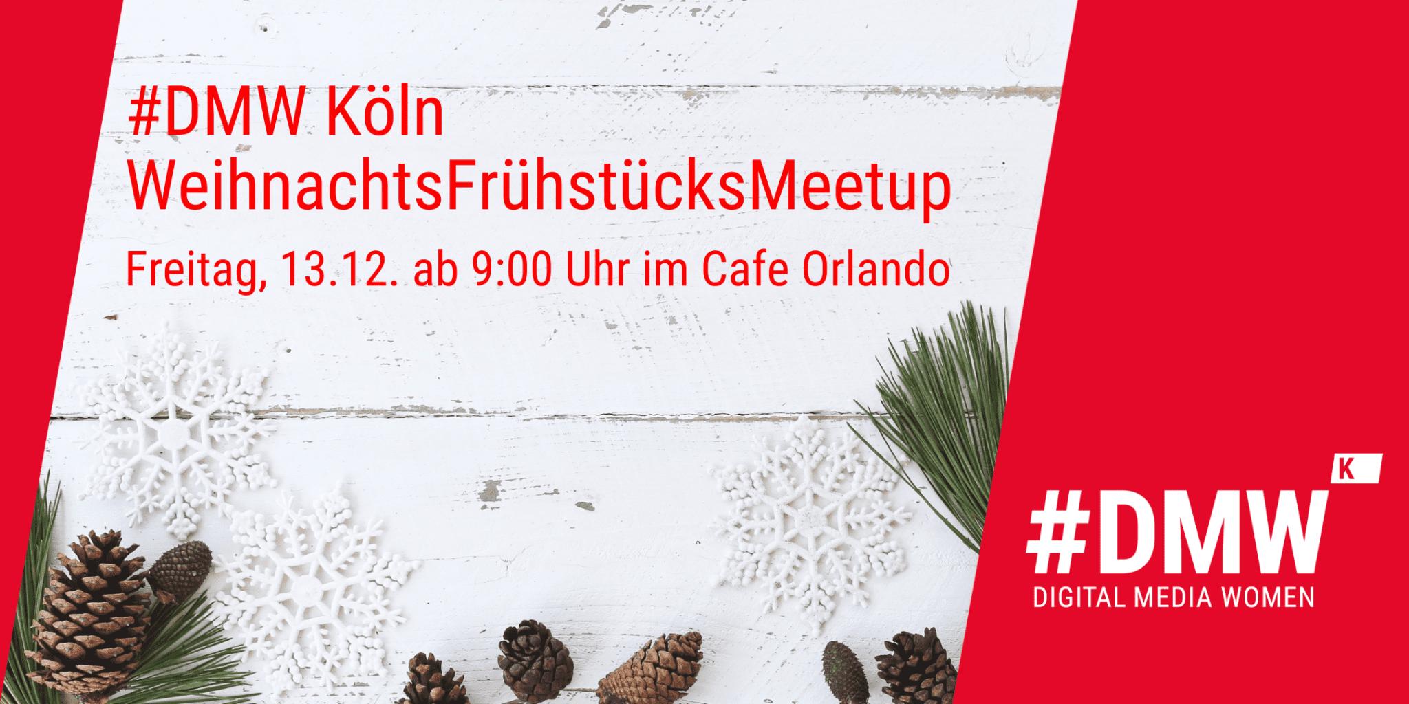 #DMW köln Frühstücks Meetup im Cafe Orlando