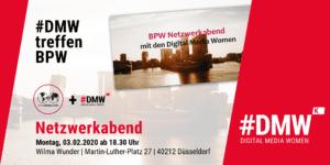 Netzwerkabend der #DMW und BPW in Düsseldorf @ Wilma Wunder