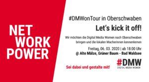 Meetup - #DMWonTour Oberschwaben @ Alte Mälze - Grüner Baum