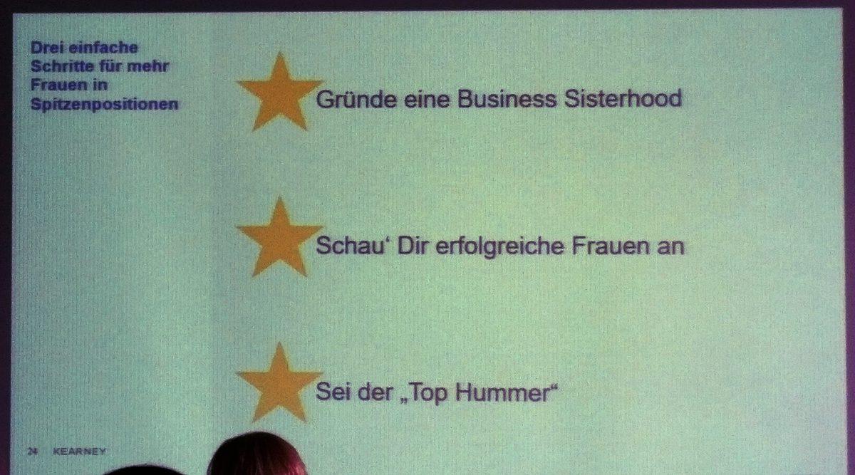 #DMW Rehinland auf dem 8. FOM Frauenforum in Köln Karriereipps für Frauen von Dr. Laura Wendt